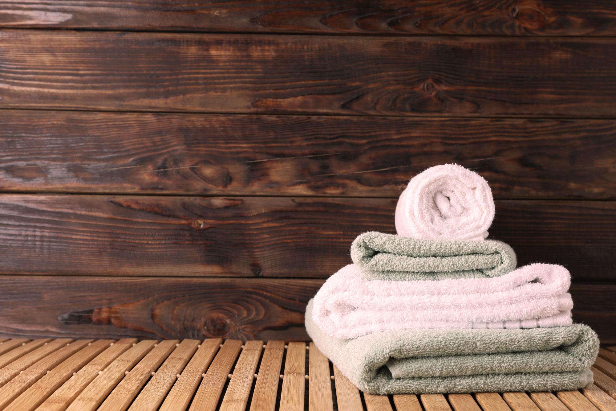 Les cures serviettes de bain