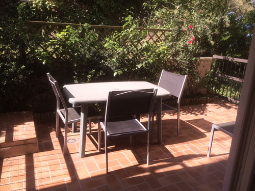 terrasse , table , chaises
